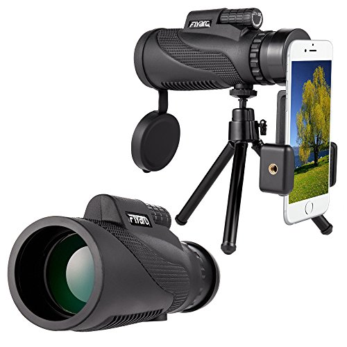 Mobile Phone Telescope,Monocular Telescope,Zoom Camera lens Low Night Vision 12X50 BAK4 Prism & FMC,