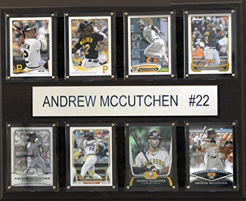 MLB Pittsburgh Pirates Andrew Mccutchen 8-Card Plaque, 12 x 15-Inch