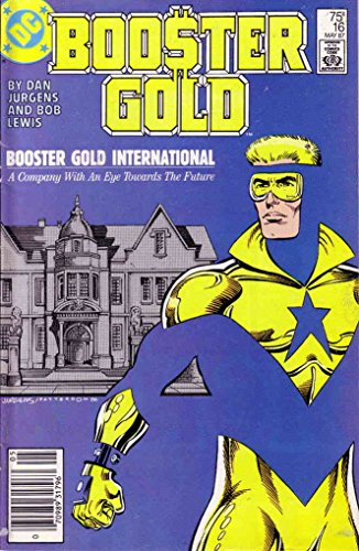 Booster Gold #16 (Newsstand) FN ; DC comic book