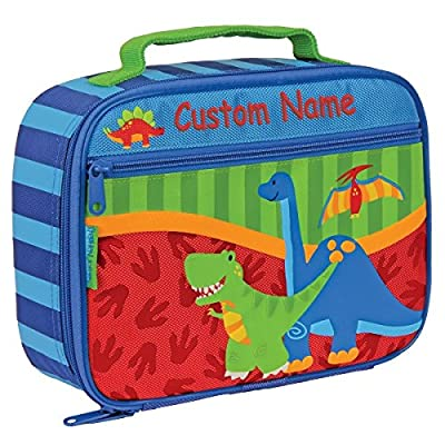 Personalized Classic Dinosaurs Lunch Box - CUSTOM NAME: Kitchen & Dining