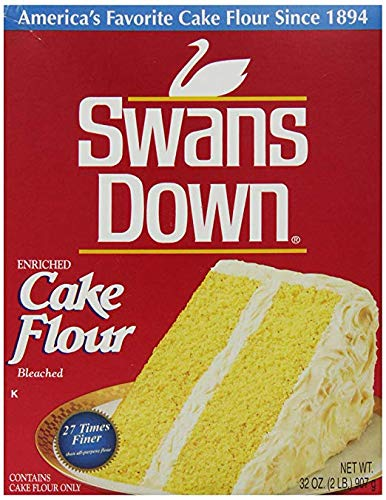 Swans Down Enriched, Bleached Cake Flour, 32 oz (Pack Of ()