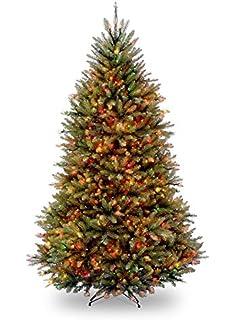 65 pre lit innsbruck fir full artificial christmas tree multi color lights amazoncom gki bethlehem lighting pre lit