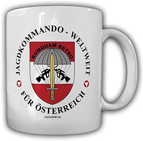 Tasse Jagdkommando Weltweit Österreich Jakdo Special Forces Abzeichen Austria Abzeichen Bundesheer 21793 Küche Haushalt