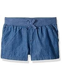 The Children's Place - Pantalones Cortos para niñas Grandes, Talla Grande, con Cintura de Punto