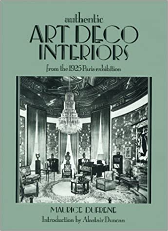 Art Deco Interiors Maurice Dufrene 9781851491193 Amazon Books