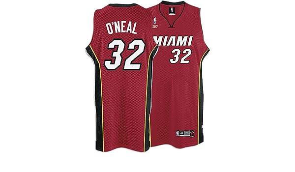 dd2f34f6382 ... Amazon.com Heat Reebok Mens NBA 05-06 Alternate Swingman Jersey  Athletic Jerseys Clothing Shaquille ONeal Jersey Swingman 32 Miami ...