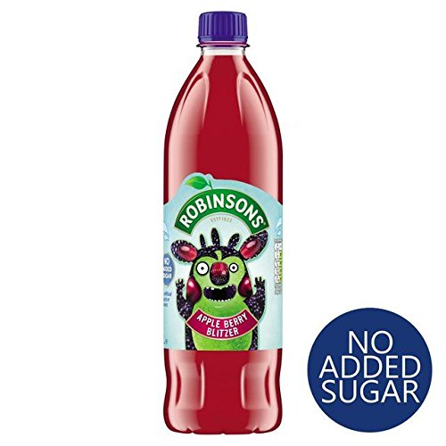 - Robinsons Apple BlackBerry No Added Sugar - 1L (33.81fl oz)
