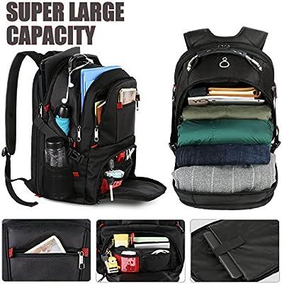 Extra Large College School Laptop Bookbags YOREPEK Travel Backpacks for Men