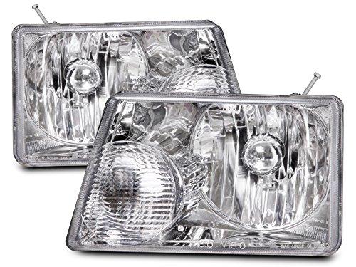 Ford Ranger New Headlamps Set w/Xenon Headlight (Headlamp Set)