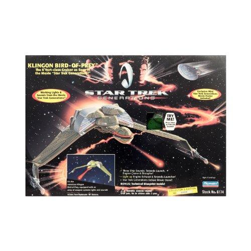 Star Trek Generations Klingon Bird-of-prey Ship