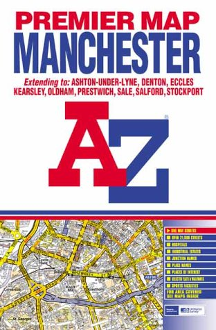 Download Premier Map of Manchester (A-Z Street Maps & Atlases) pdf epub