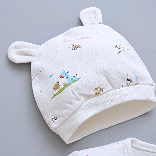 9840cc38bcf9 5pcs Layette Sets Newborn Baby Boy Girl Clothes Unisex Infant ...