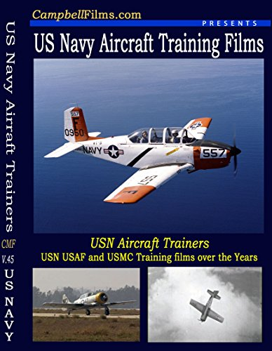 USN T-34 T-28 SNJ Navy airplane TRAINERS Naval Base Aircraft Carriers old films ()