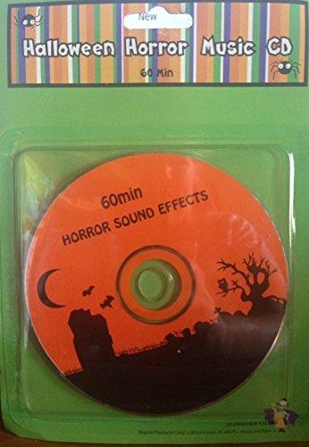 Halloween Horror Music CD -