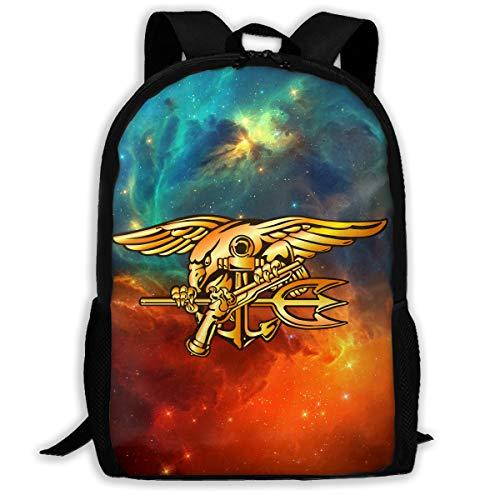 SEAL Eagle Trident Backpack Daypack BookBag Shoulder Schoolbags Travel Bags ()