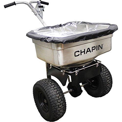 100lb SS Pro Salt Spreader by Chapin International