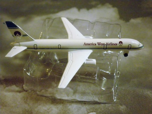- America West Airlines Boeing 757- Jet Plane 1:600 Scale Die-cast Plane Made in Germany by Schabak