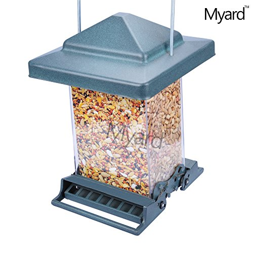 myard-rocket-double-sided-squirrel-resistant-proof-large-capacity-tube-bird-feeder-mbf-75160