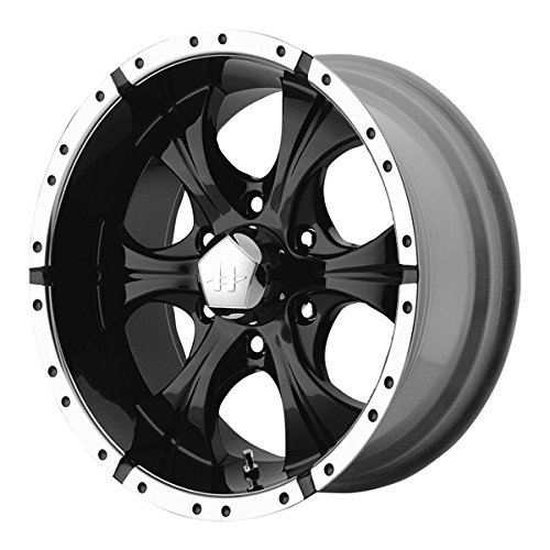Helo HE791 18x9 Black Wheel / Rim 5x135 with a -12mm Offset and a 87.10 Hub Bore. Partnumber HE7918913312 (Cheap Truck Rims)