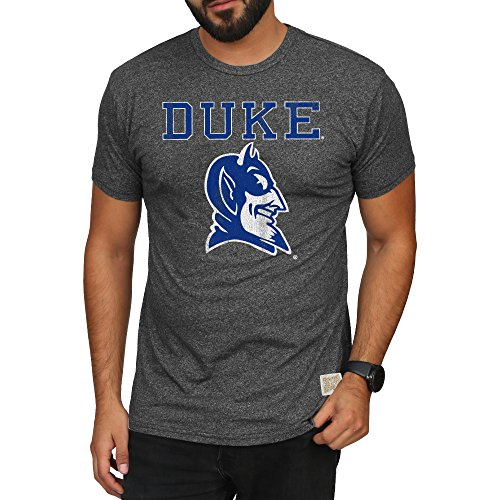 Fan Duke - Elite Fan Shop Duke Blue Devils Retro Tshirt Charcoal - L