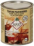 SamaN SAM-304-1L 1-Quart Interior Stain for Fine Wood for Seal, Stain and Varnish, Amaretto by Saman