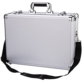 Professional Aluminum Hard Hand Gun Cases Office File Briefcase