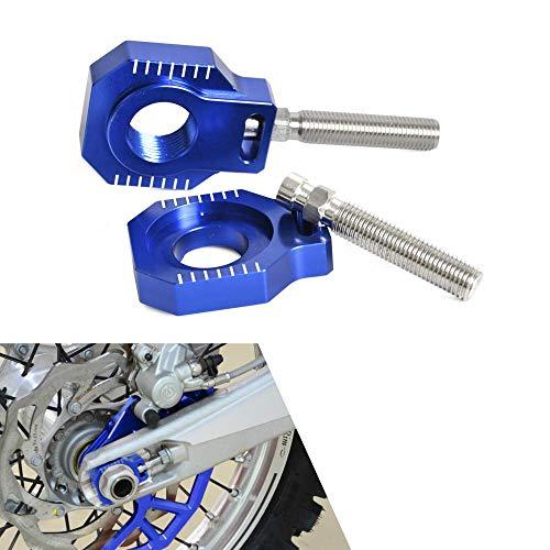 Rear Axle Blocks Chain Adjuster for Husqvarna TC TE FC FE TX 85 125 250 300 350 450 501 Husaberg FE TE FS FX 390 570 590