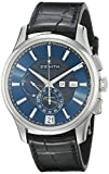 Zenith Men's 0320704054.22C Class Winsor Analog Display Swiss Automatic Black Watch
