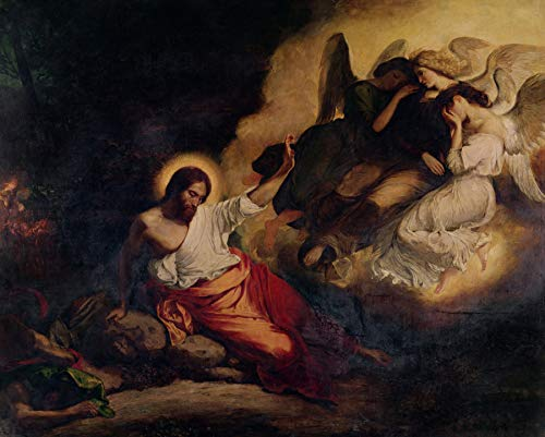 - Eugene Delacroix Christ in The Garden of Olives Church of Saint-Paul-Saint-Louis, Paris, France 30