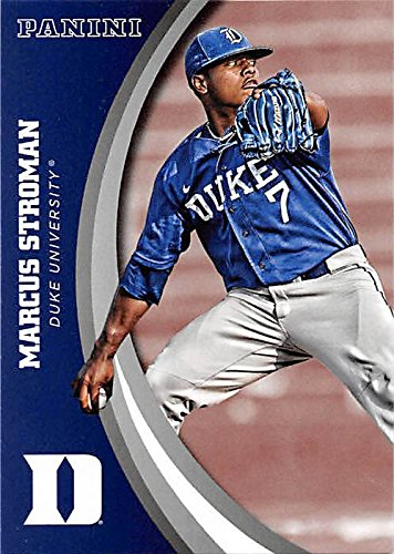 new products e7c52 b4b1d Marcus Stroman baseball card (Duke Blue Devils) 2015 Panini ...
