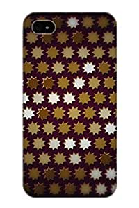 Creatingyourself Protection Case For Iphone 4/4s / Case Cover For Christmas Day Gift(Abstract Pattern)