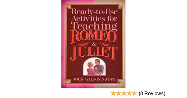 Amazon Ready To Use Activities For Teaching Romeo Juliet