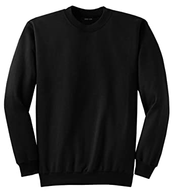 Adult Soft and Cozy Crewneck Sweatshirts in 28 Colors in Sizes S-4XL at  Amazon Men s Clothing store  e31e22176