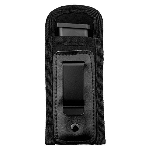 Aethal Universal IWB Holster for Concealed Carry | Inside The Waistband Holster | Tactical Pistol Mag Pouch | Magazine Holster (Mag Pouch)