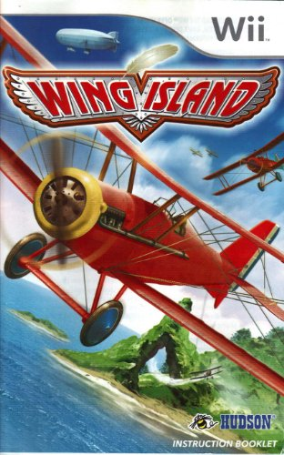 Wing Island Wii Instruction Booklet (Nintendo Wii Manual Only) (Nintendo Wii Manual)