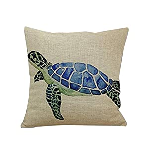 51QSWiE%2By6L._SS300_ 100+ Coastal Throw Pillows & Beach Throw Pillows