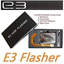 Original E3 Nor Flasher simple package Edition include 4 parts Downgrade tool kits