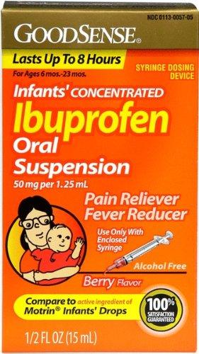 Good Sense Infants Ibuprofen Oral Suspension 50 Mg Berry Case Pack 24