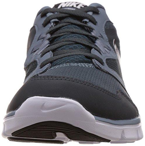Nike Flex Experience RN 3 MSL - Zapatillas de running unisex Gris / Blanco / Negro