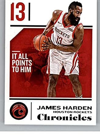 new style 2a6b8 828ab Amazon.com: 2018-19 Panini Chronicles #41 James Harden ...