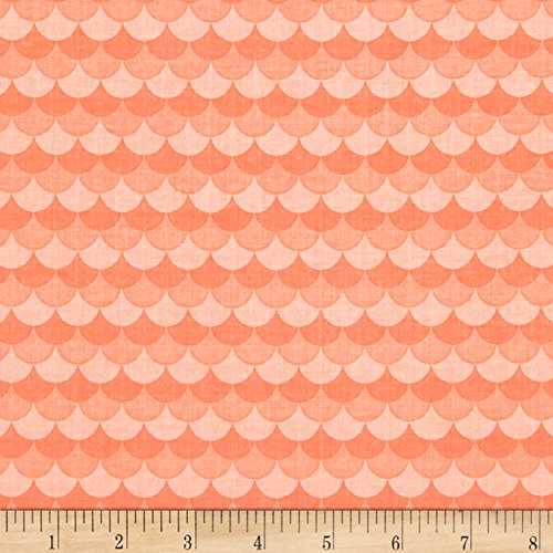Riley Blake Designs Sea Mermaid Coral Fabric by The Yard