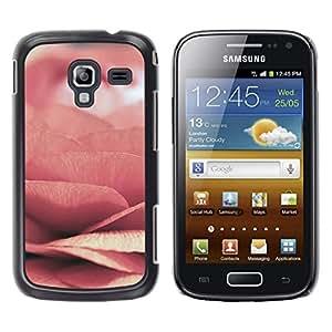 Be Good Phone Accessory // Dura Cáscara cubierta Protectora Caso Carcasa Funda de Protección para Samsung Galaxy Ace 2 I8160 Ace II X S7560M // rose floral pink spring flower love pe