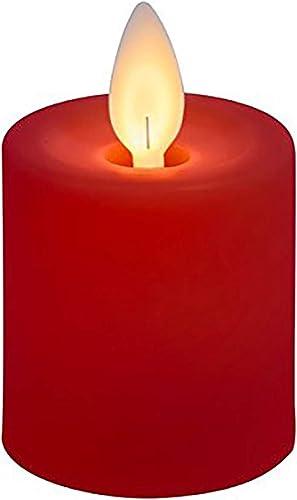 Ganz Red LED Votive Candle Set 2 pc. Set