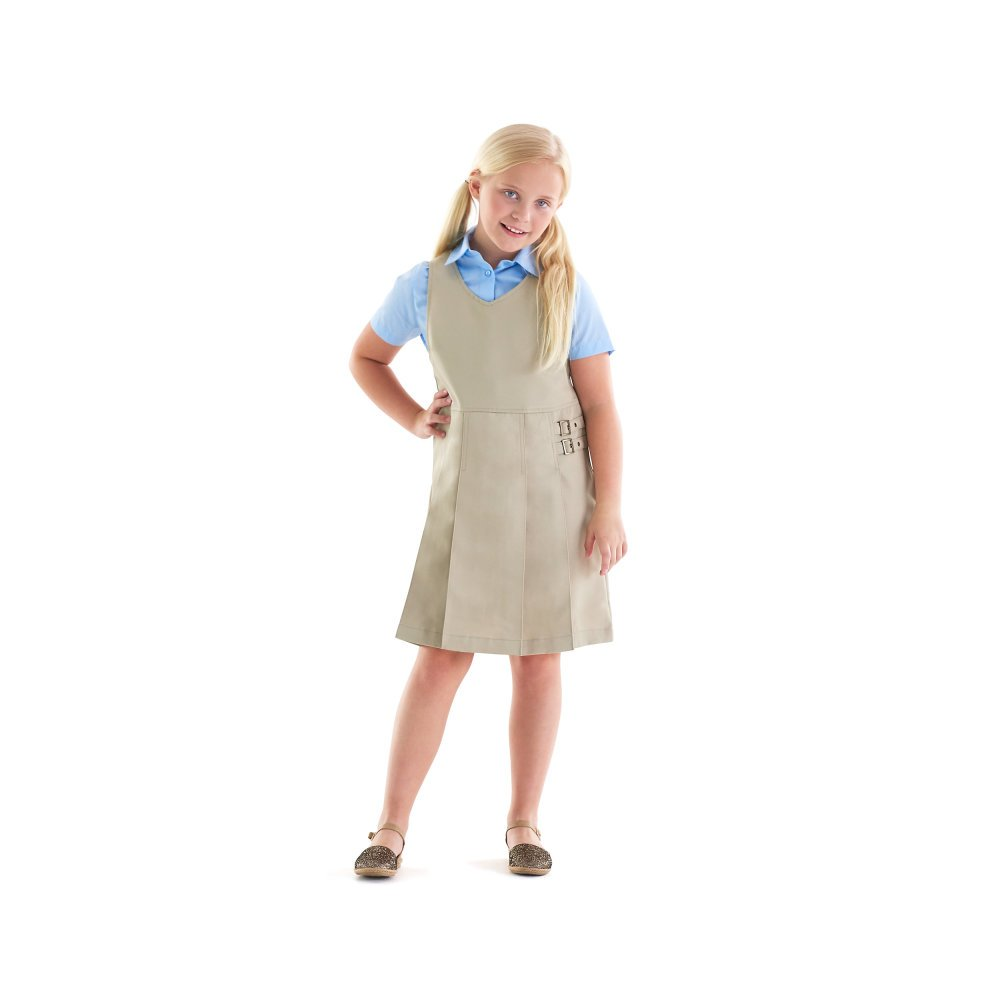 French Toast Girls Short Sleeve Pointed Collar with Pocket Shirt