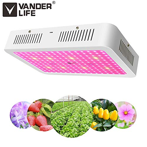 Led Life (LED Grow Light 2000W - Vander Updated Version Full Spectrum Led Growing Lamp for Hydroponic Indoor Plants Veg and Flower)