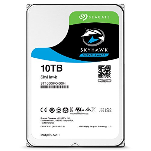 Seagate SkyHawk 10TB Surveillance Hard Drive - SATA 6Gb/s 256MB Cache 3.5-Inch Internal Drive (ST10000VX0004) by Seagate (Image #5)