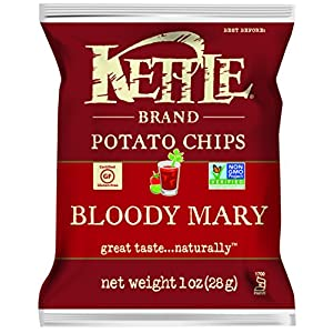 Kettle Brand Potato Chips, Bloody Mary, 1 Ounce (Pack of 72)