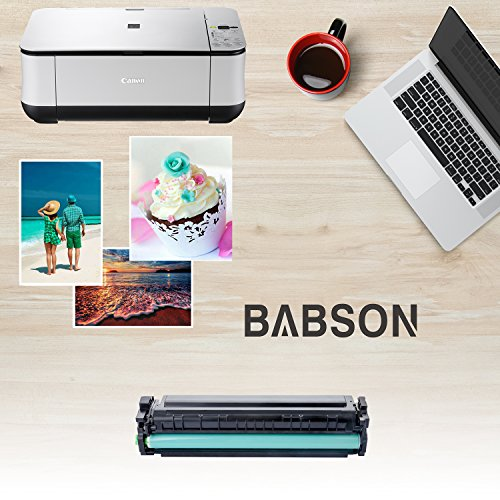 BABSON Compatible HP 201X CF400X HP 201A CF400A High Yield Toner Cartridge use for HP Color LaserJet Pro MFP M277dw M277n M252dw M252n, 1 Pack(Black) Photo #5