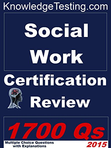 Amazon.com: Social Work Certification Review (Social Work Review ...
