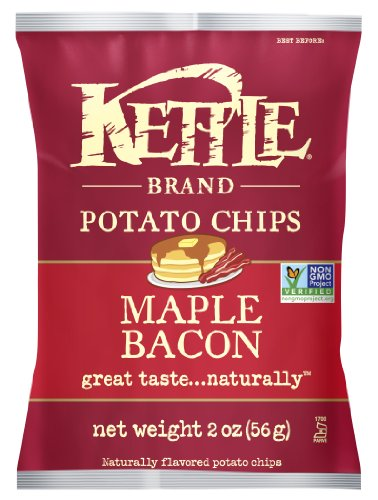 Kettle Brand Potato Chips, Maple Bacon, 2-Ounce Bags (Pack of 24) (Kettle Chips 2 Ounce compare prices)